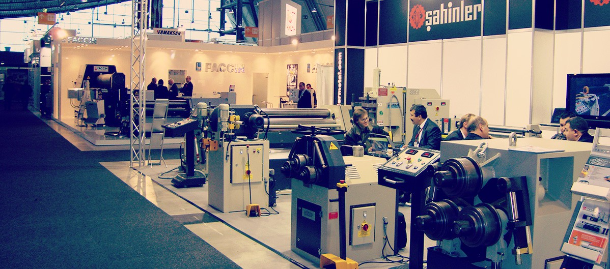 Euroblech Hannover GERMANY 2009